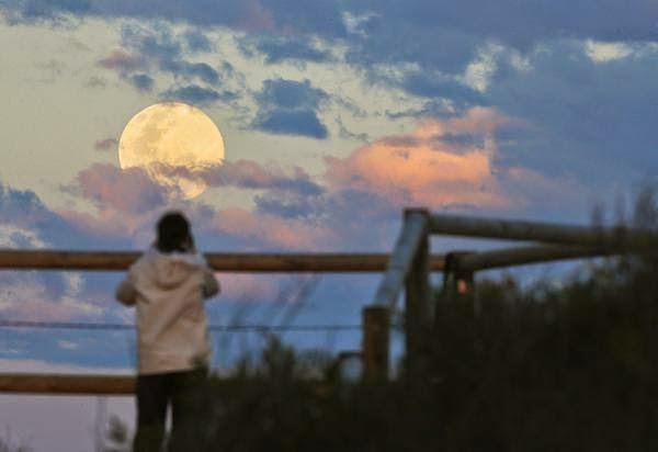 As 9 Melhores Fotos da Super Lua Cheia Entre_86