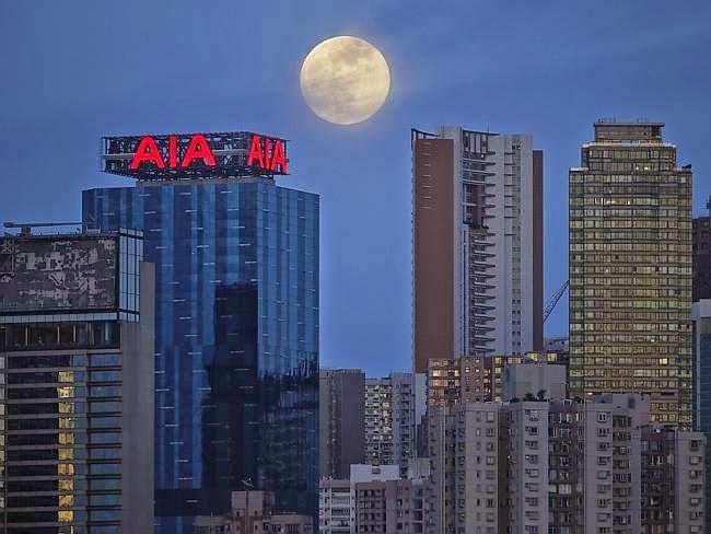 As 9 Melhores Fotos da Super Lua Cheia Entre_88