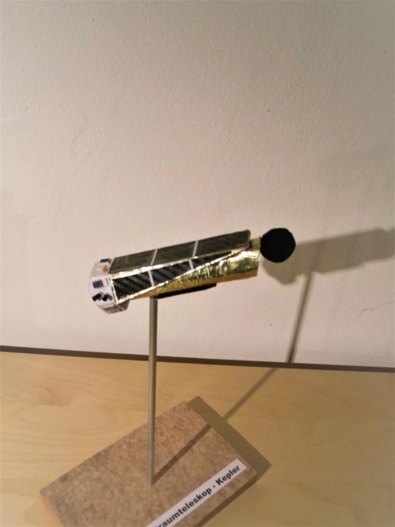 Weltraumteleskop Kepler  einzelstück geb. von modellbauer Dsci3042