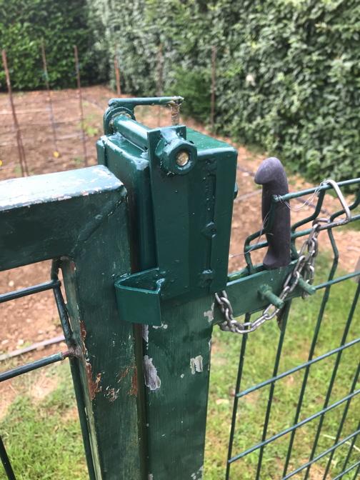 Verrou rapide pour portail de jardin pivotant. Pivota15