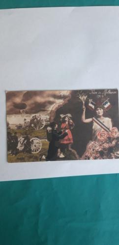 Cartes postales patriotiques françaises de la Grande Guerre - recensement 20210516