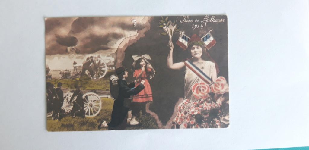 Cartes postales patriotiques françaises de la Grande Guerre - recensement 20210517