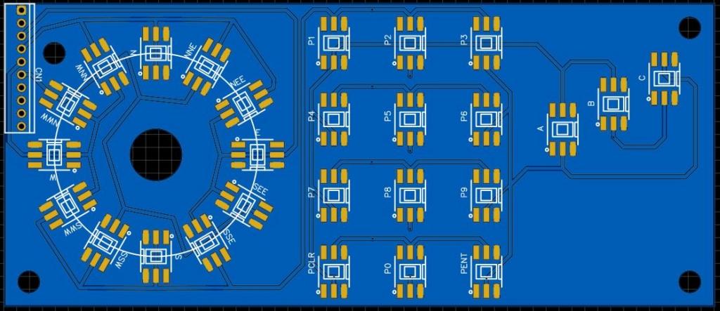 Projet hypothétique d'un nouveau Controleur Intellivision Pcb_ro10