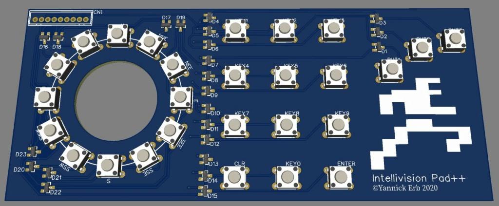 Projet hypothétique d'un nouveau Controleur Intellivision Sktch_10