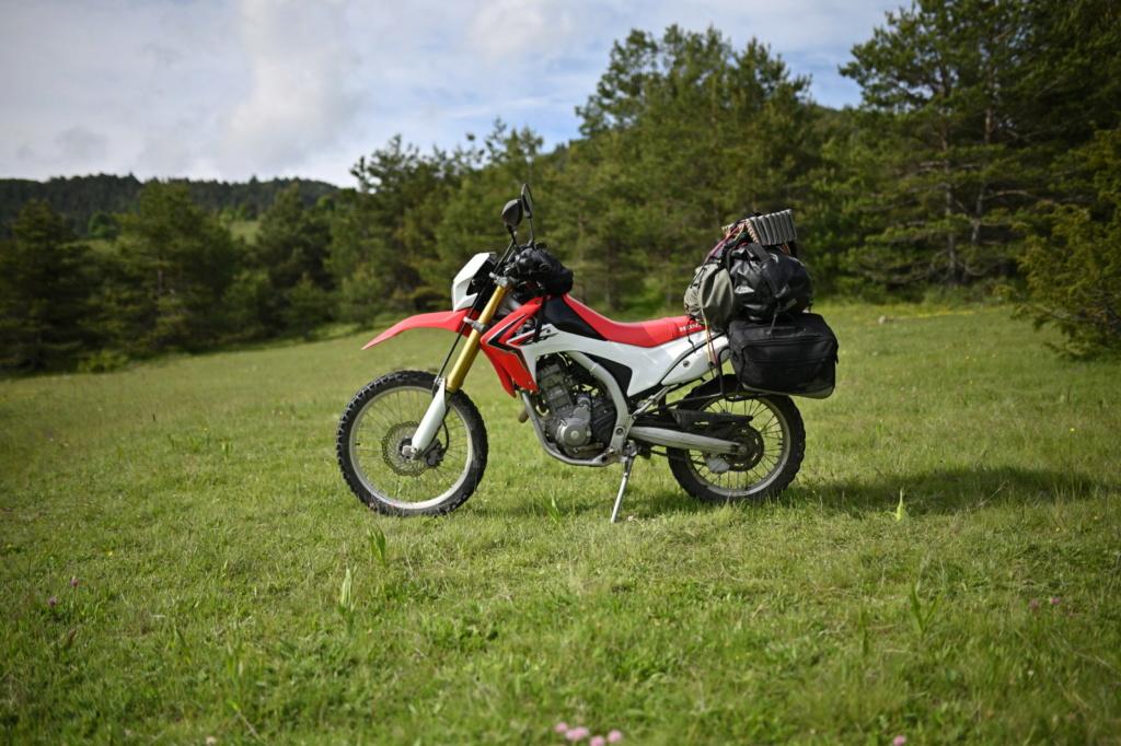Honda Crf250l : porte-bagages et bagages   - Page 2 Dsc_7511