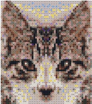 Réalisations Pixel Art en perles Hama - Page 2 Tentat10