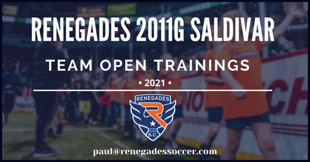 Renegades 2011G team forming 2020/2021 292f1110