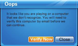 Please Verify Your Computer- Oops! Prompy10