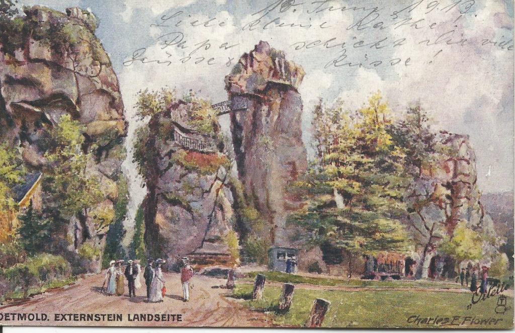 Ansichtskarten aus Lippe Detmold Extern11