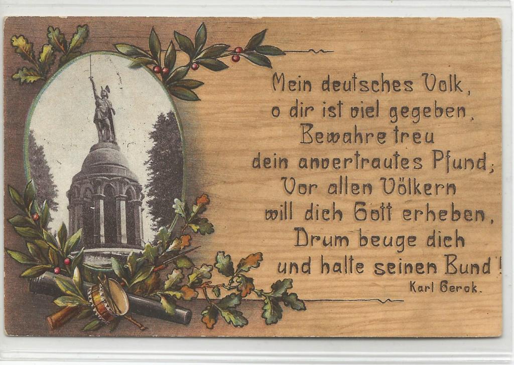 Ansichtskarten aus Lippe Detmold Herman11