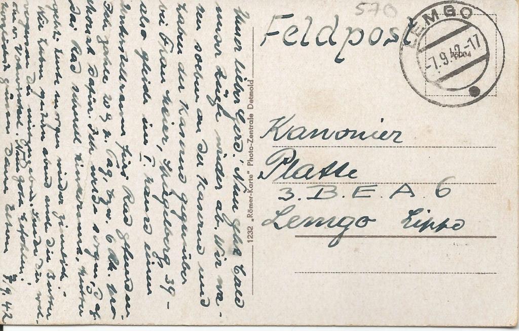 Ansichtskarten aus Lippe Detmold Hexenb10
