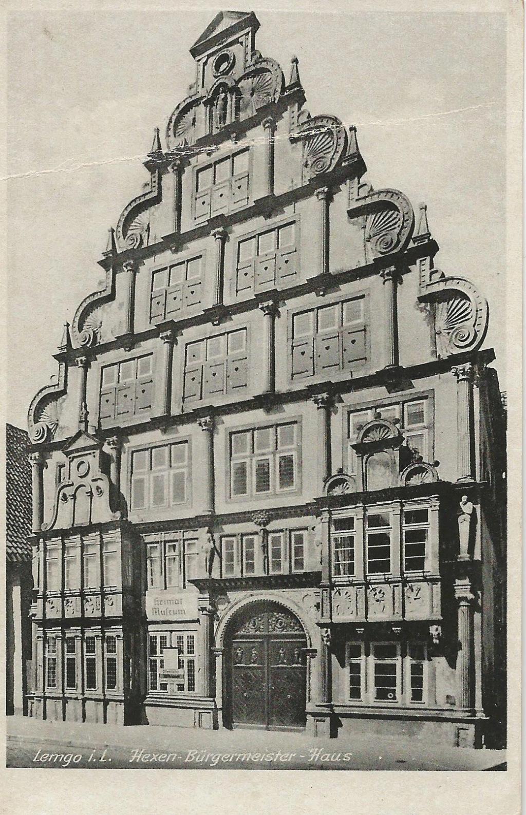 Ansichtskarten aus Lippe Detmold Hexenb11
