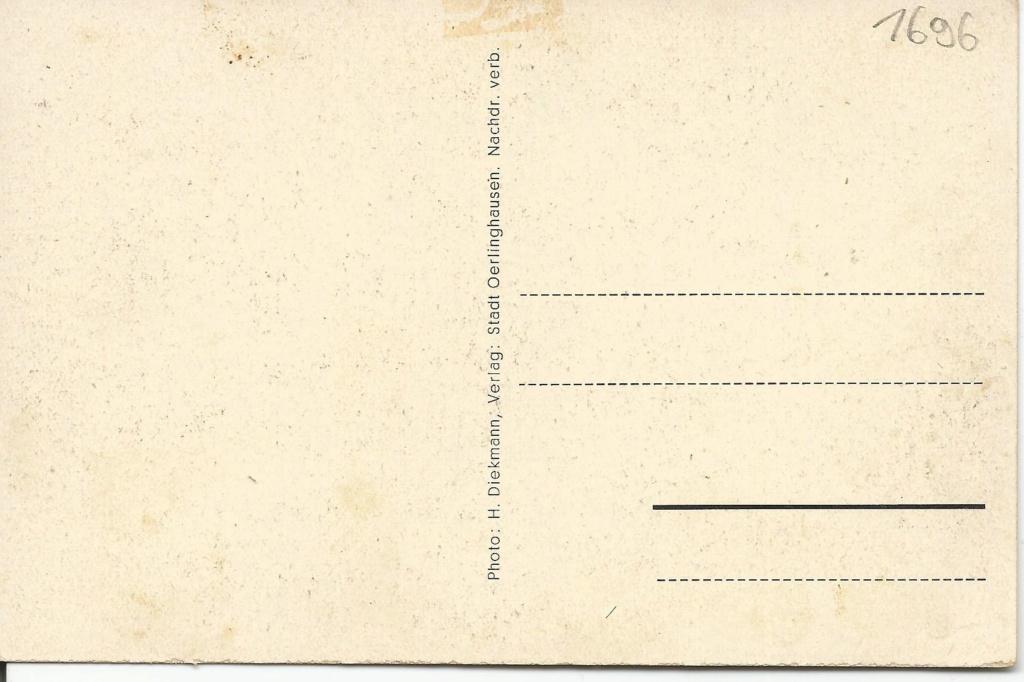 Ansichtskarten aus Lippe Detmold Oerlin10