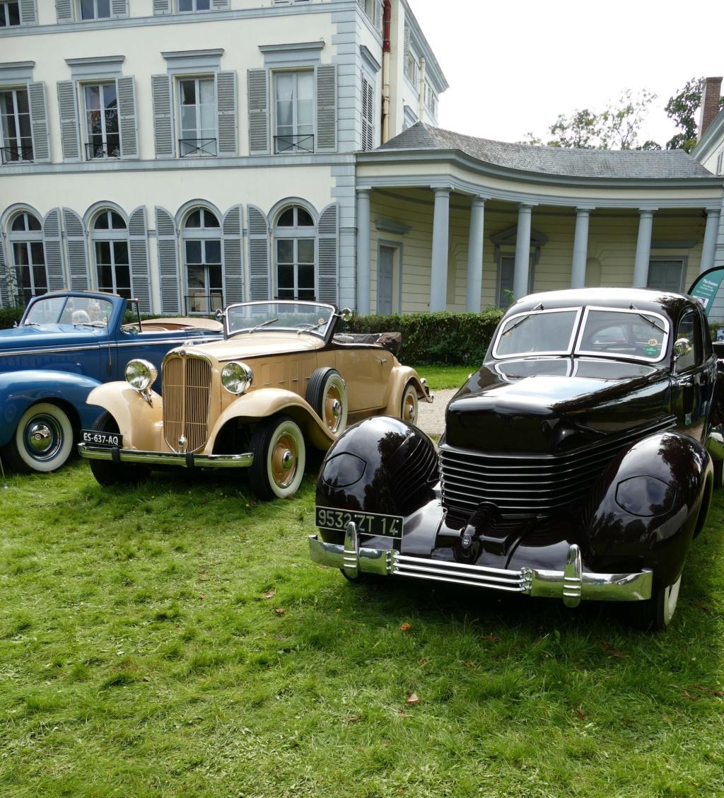 l'Art Automobile - château de Groussay - Montfort l'Amaury  P1040011