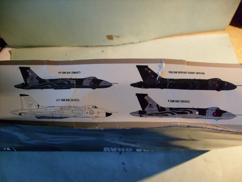 Comparatif REVELL / AIRFIX des  3 V ,HANDLEY PAGE VICTOR, AVRO VULCAN B Mk2, VICKERS VALIANT BK Mk 1 1/72ème S7307015