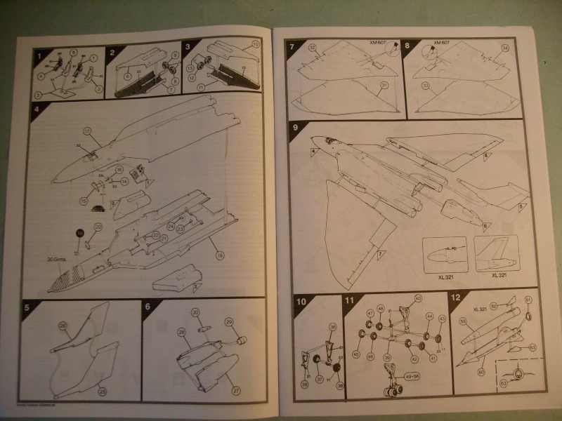 Comparatif REVELL / AIRFIX des  3 V ,HANDLEY PAGE VICTOR, AVRO VULCAN B Mk2, VICKERS VALIANT BK Mk 1 1/72ème S7307016