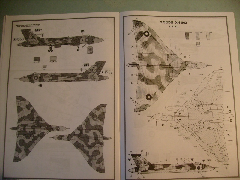 Comparatif REVELL / AIRFIX des  3 V ,HANDLEY PAGE VICTOR, AVRO VULCAN B Mk2, VICKERS VALIANT BK Mk 1 1/72ème S7307018