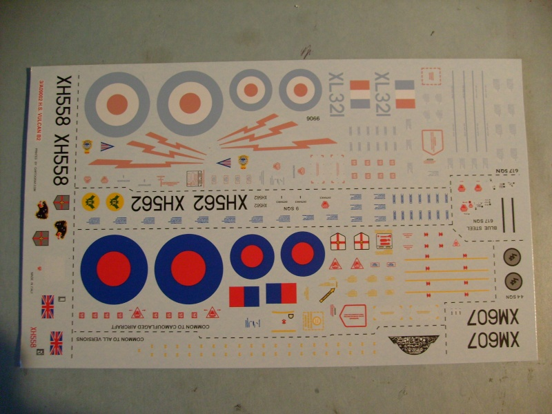 Comparatif REVELL / AIRFIX des  3 V ,HANDLEY PAGE VICTOR, AVRO VULCAN B Mk2, VICKERS VALIANT BK Mk 1 1/72ème S7307020