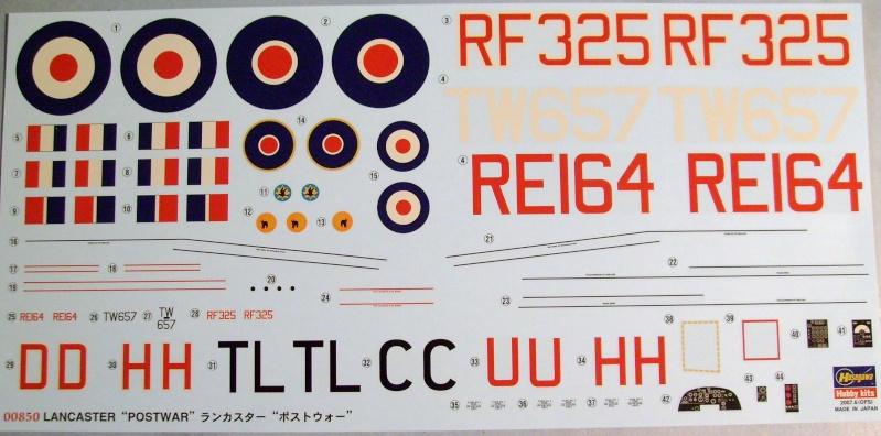 Comparatif AVRO LANCASTER B1 SPECIAL vs AVRO LANCASTER BIII DAM BUSTER 1/72èmeme S7307035