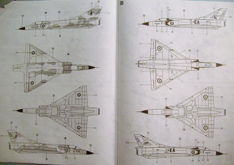 Multi-présentations ESCI/ITALERI quelques  MIRAGE III, F1 et KFIR au 48ème S7307118