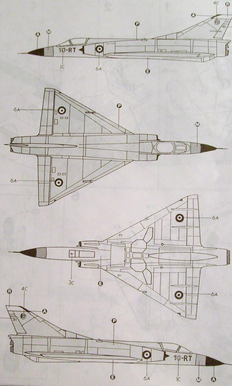 Multi-présentations ESCI/ITALERI quelques  MIRAGE III, F1 et KFIR au 48ème S7307119