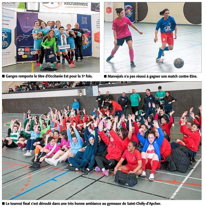 Futsal Féminin Régional 2019 Futsal13