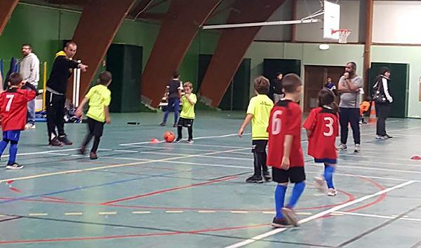 U7 à Marvejols pour du futsal U70111