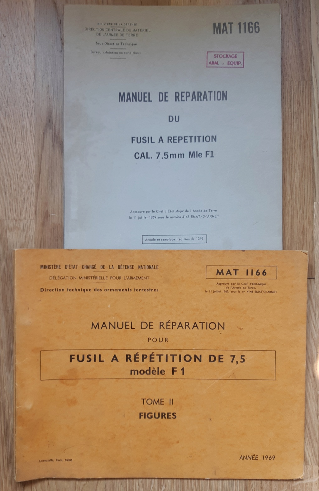 manuel de reparation du FRF1 premiere édition 1969 20210814