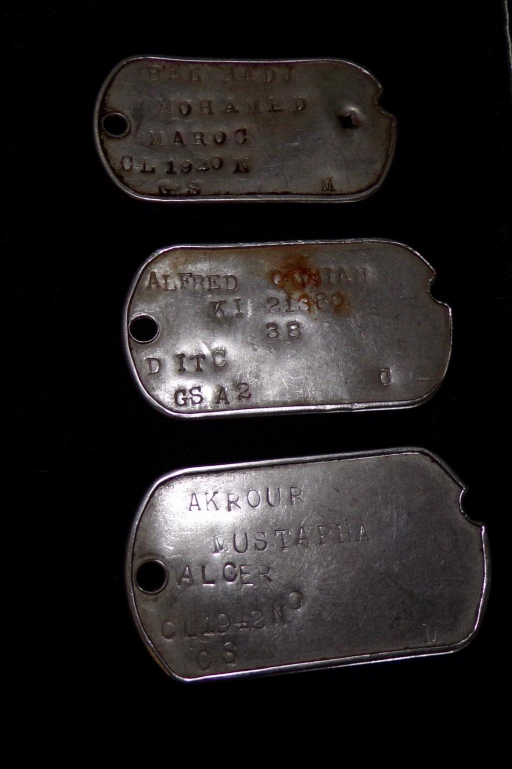 lot plaques d'identité US France libre  100_0023