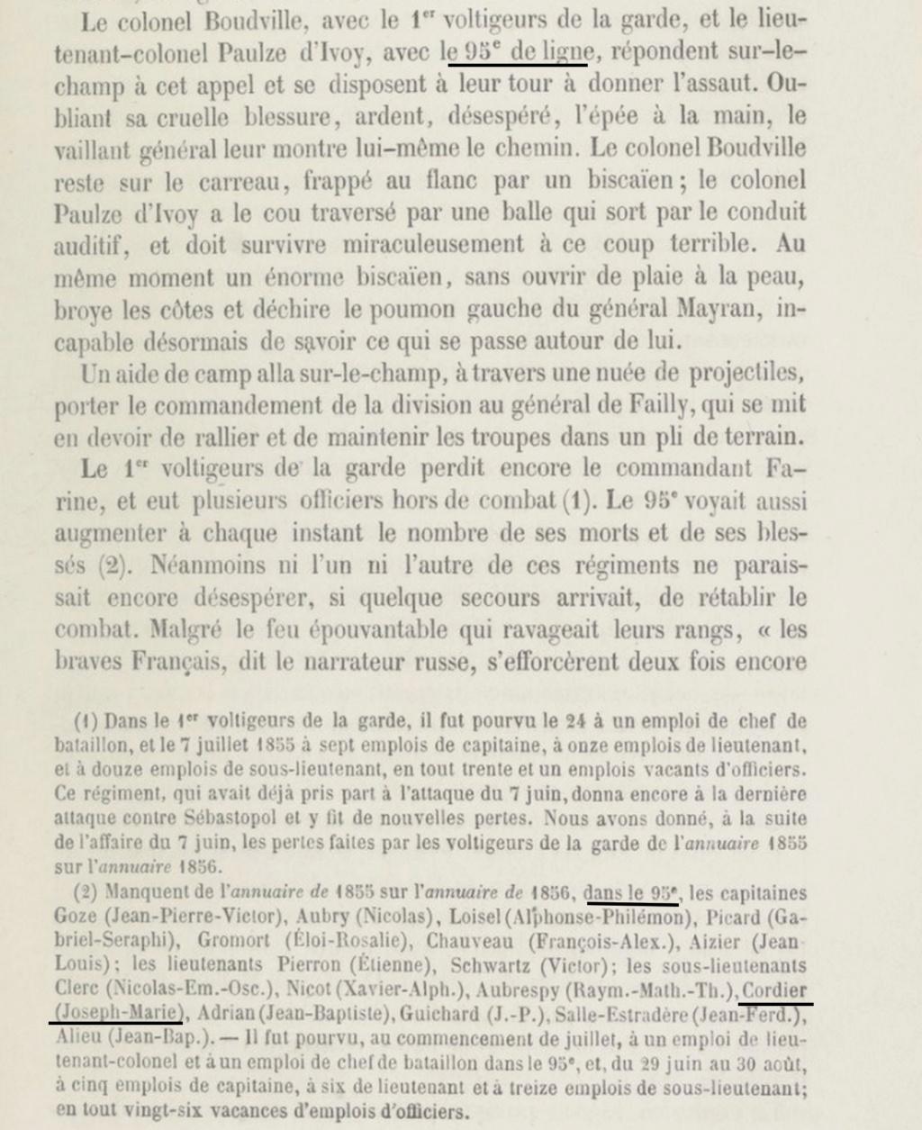 Atlas complet du siège de Sébastopol 1858 Combat10