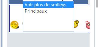 Problème affichage de la liste des smileys Captur17