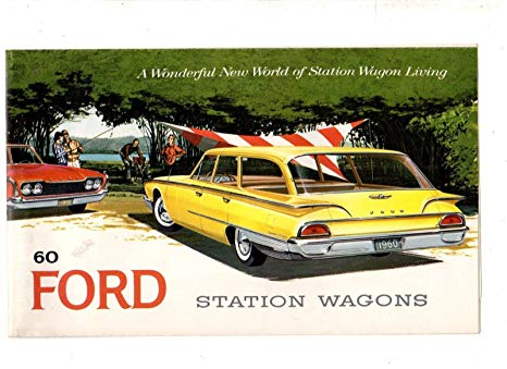 Ford 1960 wagon Country Sedan (réa N°2) 81x5es10