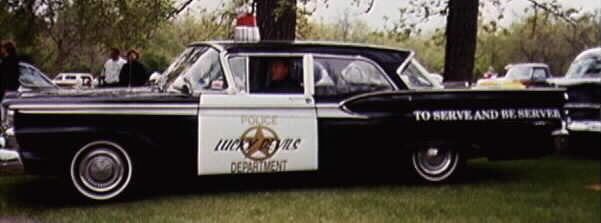 1959 Ford police car Cop110