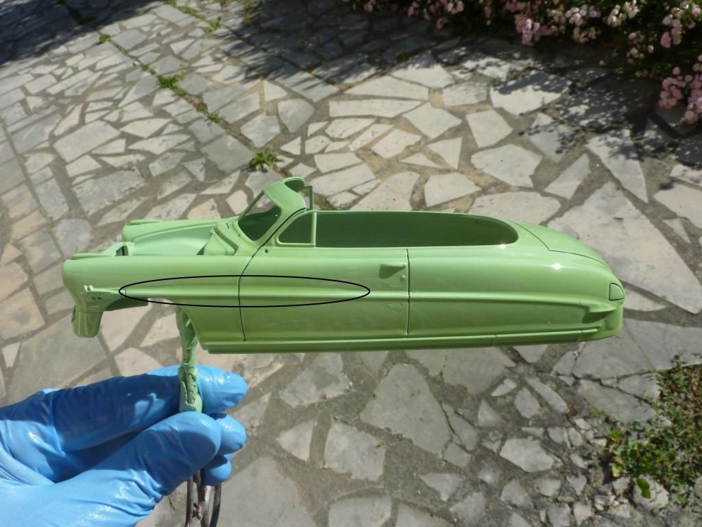 Hudson Hornet 1952 convertible terminée P1470511