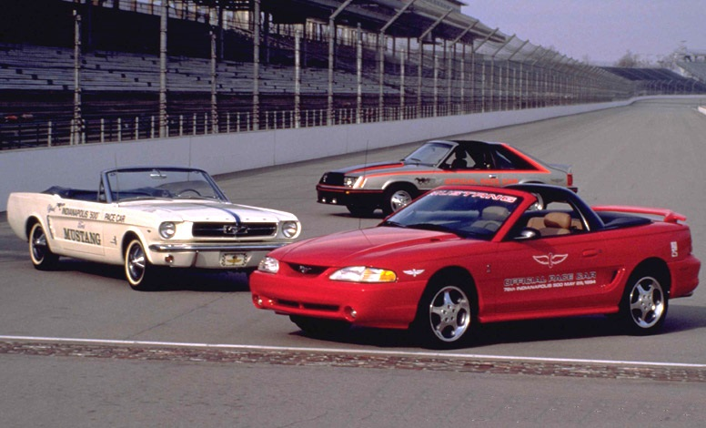 Mustang 1994 Official Pace Car Paceca10