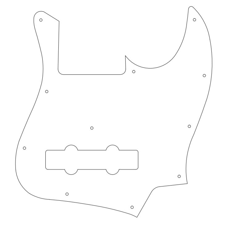 DiGarcia Jazz Bass Escudo10
