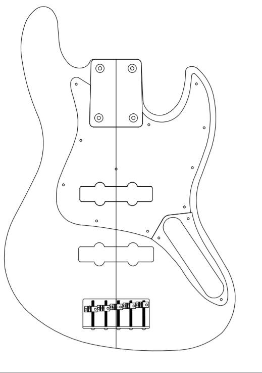 DiGarcia Jazz Bass Gt10ba10