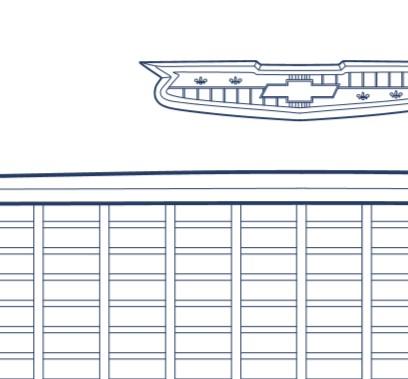 Chevrolet 55 Sport Coupe Blueprint Detail11