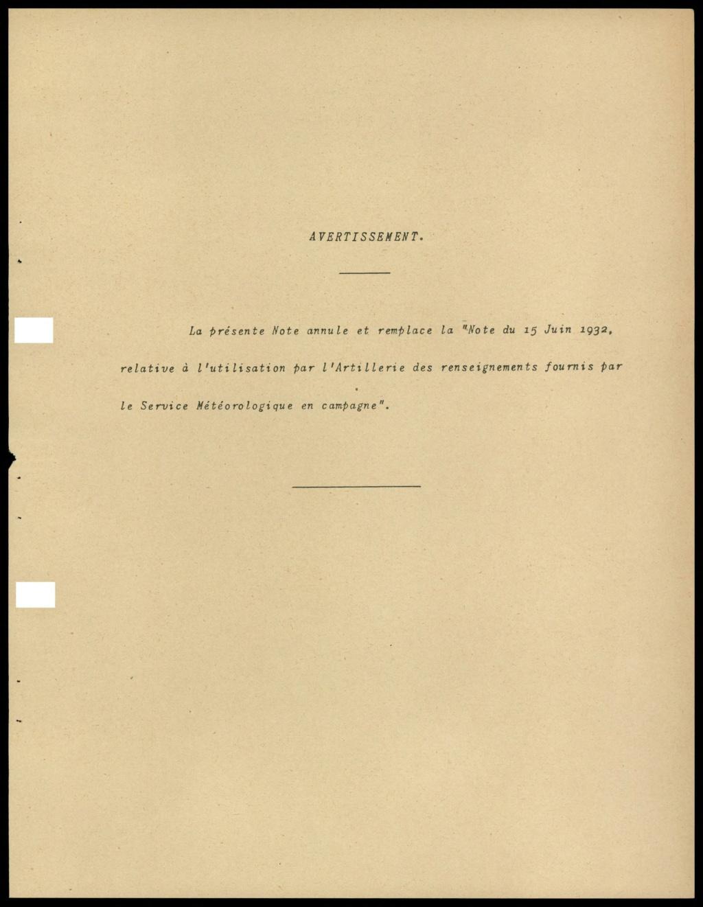 La météorologie dans l'armée francaise 210