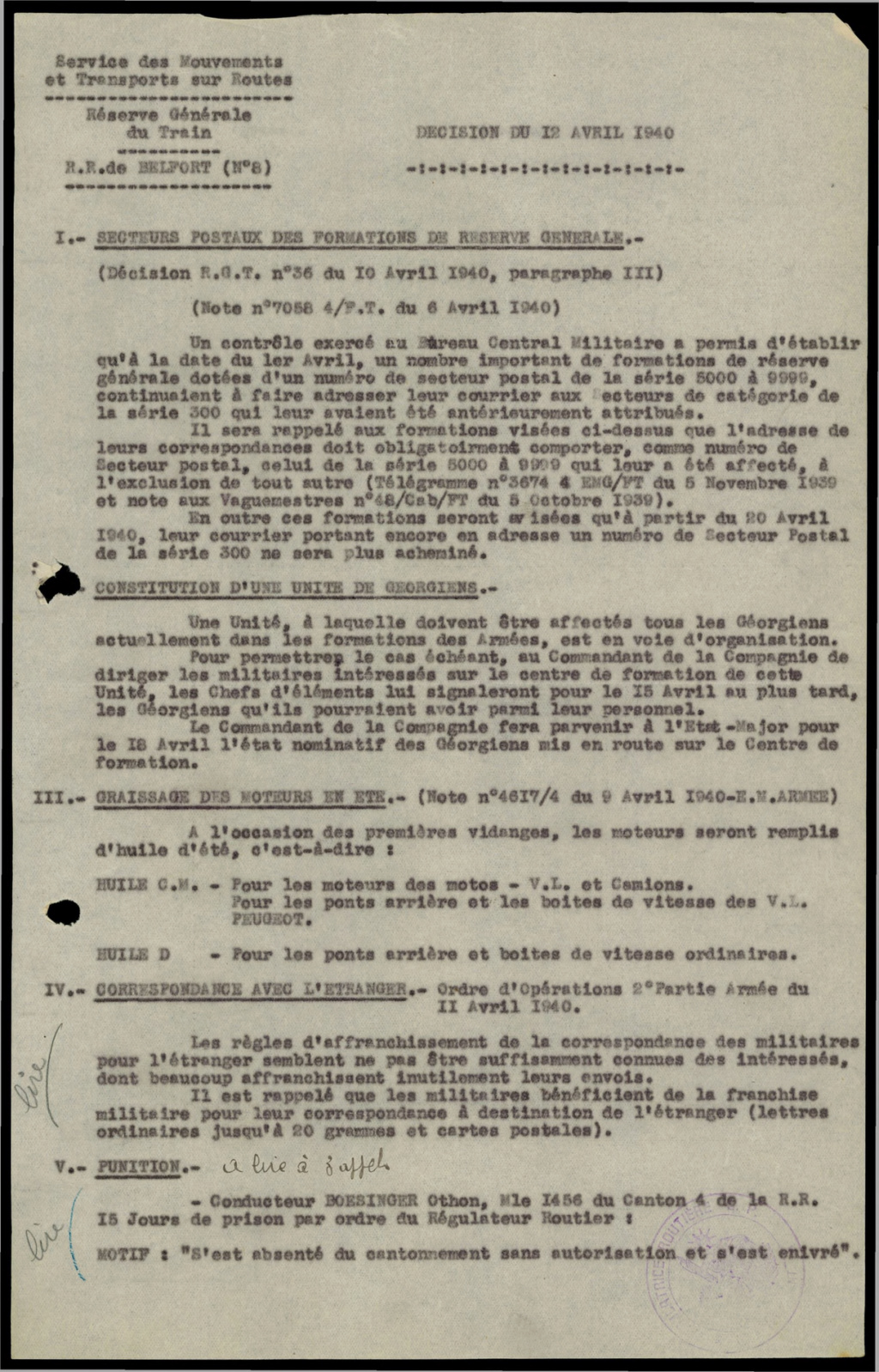 Secteurs Postaux - Page 3 Sp10