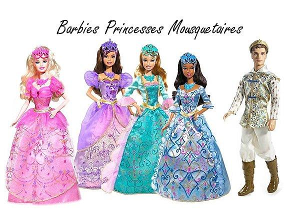 Ma Collection de Princesses Barbie 2008-e10