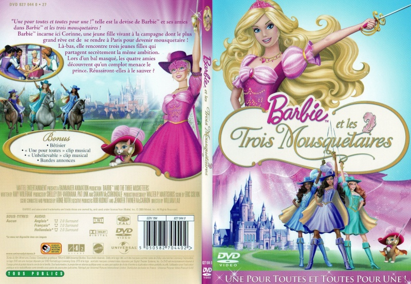 Ma Collection de Princesses Barbie Barbie12