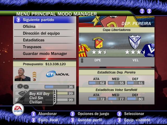 Liga Argentina + Sudamerica v2 para FIFA 07 Re-subido 2020 Fifa_010