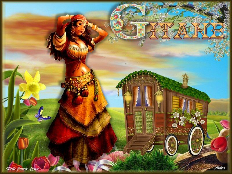 Alphabet animé G / Girafe-Gitane _g_git10