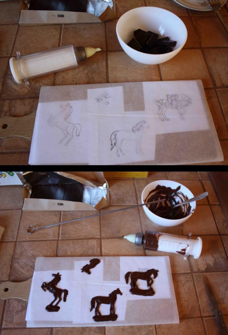 cheval, zèbre et licorne - Page 4 Chevau10