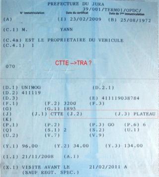 Carte grise  Cg_41112