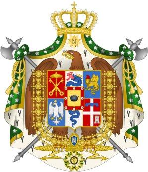 Pavillon de la Marine du Royaume d'Italie 1805-1814. 2000px11