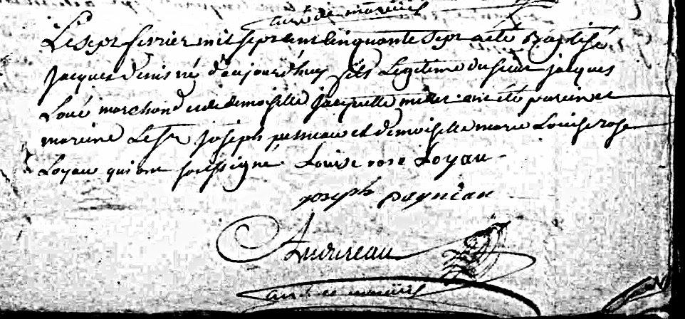 Corvette Dragon 1783 : chirurgien-major Jacques Loué. Ad85_r10
