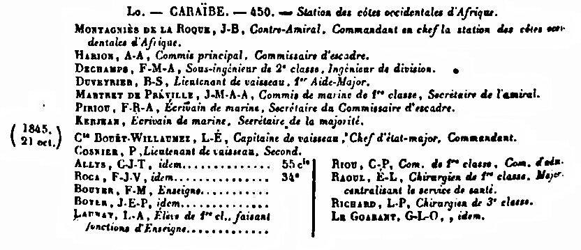 """Frégate à roues """"La Caraïbe"""" perdue en janvier 1847. - Page 2 Annale10"""