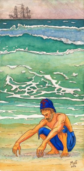 Le Dragon du chevalier de L'Espine : du Cutter anglais à la corvette française. - Page 6 Aqua_h11